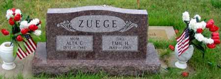 ZUEGE, EMIL H. - Dundy County, Nebraska | EMIL H. ZUEGE - Nebraska Gravestone Photos