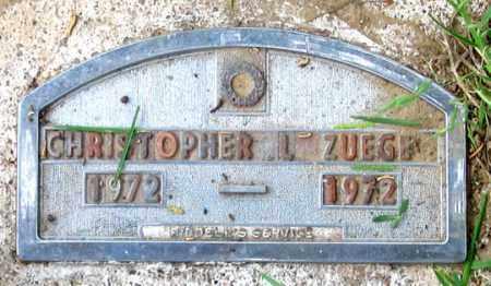 ZUEGE, CHRISTOPHER L. - Dundy County, Nebraska   CHRISTOPHER L. ZUEGE - Nebraska Gravestone Photos