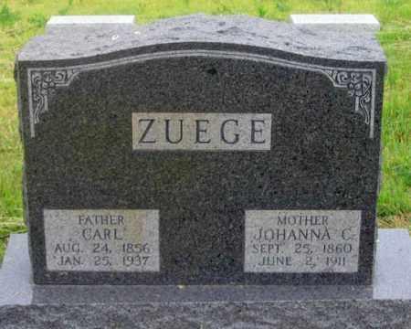 ZUEGE, CARL CHARLIE - Dundy County, Nebraska | CARL CHARLIE ZUEGE - Nebraska Gravestone Photos