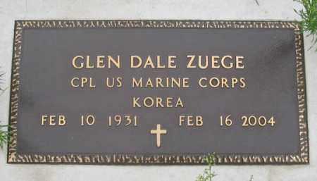 ZUEGE, GLEN DALE - Dundy County, Nebraska   GLEN DALE ZUEGE - Nebraska Gravestone Photos