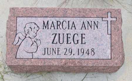 ZUEGE, MARCIA ANN - Dundy County, Nebraska | MARCIA ANN ZUEGE - Nebraska Gravestone Photos