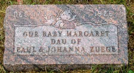 ZUEGE, MARGARET - Dundy County, Nebraska | MARGARET ZUEGE - Nebraska Gravestone Photos