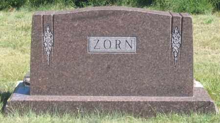 ZORN, EDWARD FAMILY GRAVE SITE - Dundy County, Nebraska   EDWARD FAMILY GRAVE SITE ZORN - Nebraska Gravestone Photos