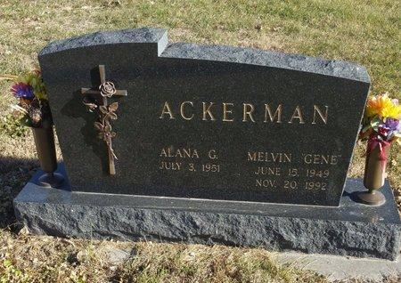 "ACKERMAN, EUGENE ""GENE"" MELVIN - Fillmore County, Nebraska   EUGENE ""GENE"" MELVIN ACKERMAN - Nebraska Gravestone Photos"