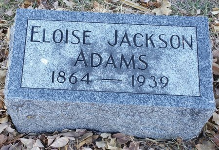 ADAMS, ELOISE - Fillmore County, Nebraska | ELOISE ADAMS - Nebraska Gravestone Photos