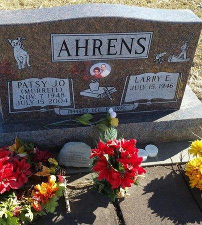 AHRENS, PATSY JO - Fillmore County, Nebraska | PATSY JO AHRENS - Nebraska Gravestone Photos