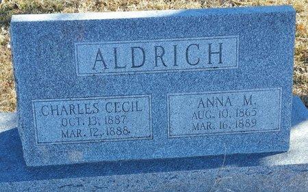 ALDRICH, ANNA MAY - Fillmore County, Nebraska | ANNA MAY ALDRICH - Nebraska Gravestone Photos