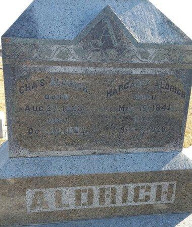 ALDRICH, CHARLES - Fillmore County, Nebraska | CHARLES ALDRICH - Nebraska Gravestone Photos