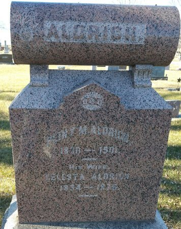 ALDRICH, PHINY M - Fillmore County, Nebraska | PHINY M ALDRICH - Nebraska Gravestone Photos