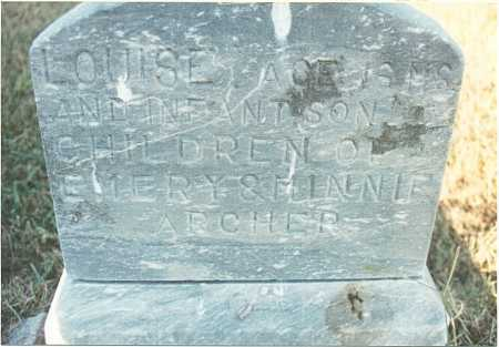 ARCHER, INFANT SON - Fillmore County, Nebraska | INFANT SON ARCHER - Nebraska Gravestone Photos