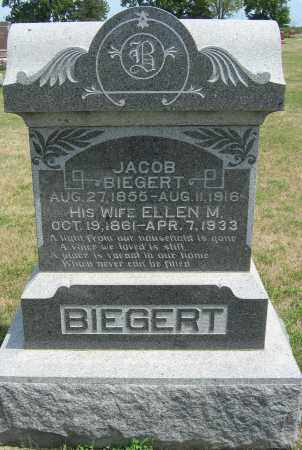 BIEGERT, JACOB - Fillmore County, Nebraska | JACOB BIEGERT - Nebraska Gravestone Photos