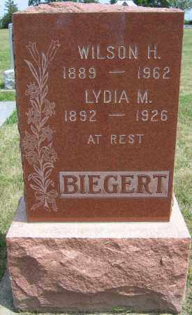RICHARDSON BIEGERT, LYDIA MAE - Fillmore County, Nebraska   LYDIA MAE RICHARDSON BIEGERT - Nebraska Gravestone Photos