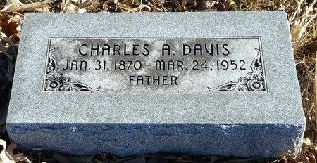 DAVIS, CHARLES A - Fillmore County, Nebraska | CHARLES A DAVIS - Nebraska Gravestone Photos