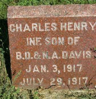 DAVIS, CHARLES HENRY - Fillmore County, Nebraska   CHARLES HENRY DAVIS - Nebraska Gravestone Photos