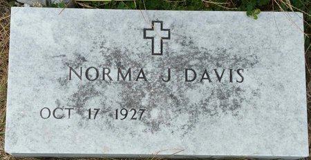 DAVIS, NORMA J. - Fillmore County, Nebraska   NORMA J. DAVIS - Nebraska Gravestone Photos