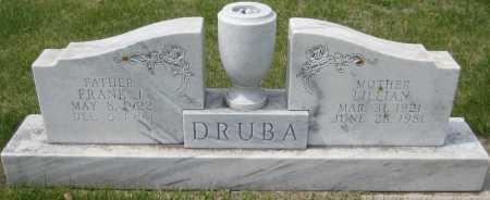 PAVLISH DRUBA, LILLIAN - Fillmore County, Nebraska | LILLIAN PAVLISH DRUBA - Nebraska Gravestone Photos