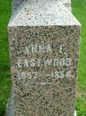 ALDRICH EASTWOOD, ANNA INEZ - Fillmore County, Nebraska | ANNA INEZ ALDRICH EASTWOOD - Nebraska Gravestone Photos