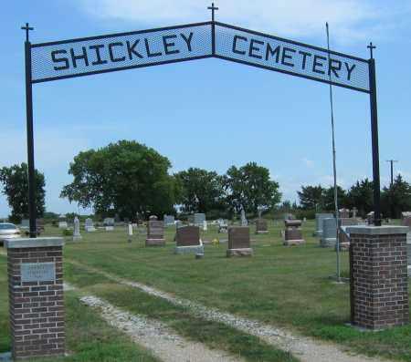 *SHICKLEY CEMETERY, ENTRANCE - Fillmore County, Nebraska   ENTRANCE *SHICKLEY CEMETERY - Nebraska Gravestone Photos