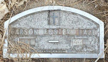 FOSTER, BABY - Fillmore County, Nebraska   BABY FOSTER - Nebraska Gravestone Photos