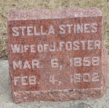FOSTER, STELLA - Fillmore County, Nebraska   STELLA FOSTER - Nebraska Gravestone Photos
