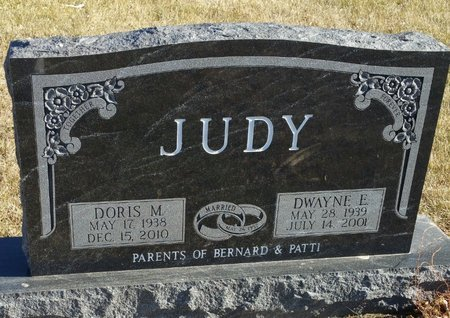 ALBRO JUDY, DORIS M - Fillmore County, Nebraska | DORIS M ALBRO JUDY - Nebraska Gravestone Photos