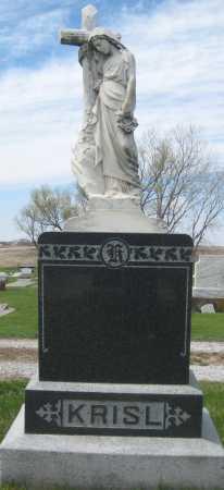 KRISL, FAMILY STONE - Fillmore County, Nebraska   FAMILY STONE KRISL - Nebraska Gravestone Photos