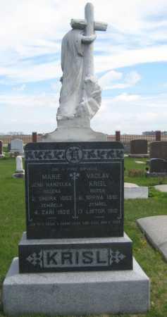 KRISL, MARIE - Fillmore County, Nebraska | MARIE KRISL - Nebraska Gravestone Photos