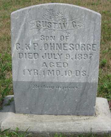 OHNESORGE, GUSTAV G. - Fillmore County, Nebraska | GUSTAV G. OHNESORGE - Nebraska Gravestone Photos