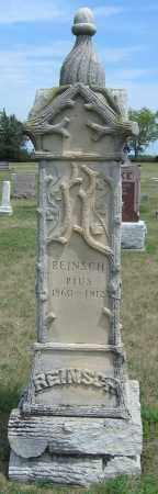 REINSCH, PIUS - Fillmore County, Nebraska   PIUS REINSCH - Nebraska Gravestone Photos
