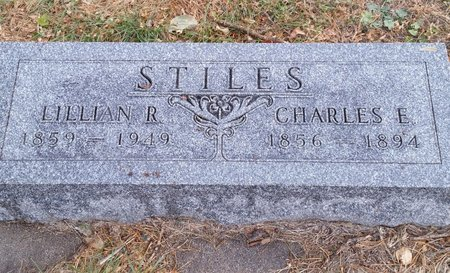STILES, CHARLES E - Fillmore County, Nebraska | CHARLES E STILES - Nebraska Gravestone Photos