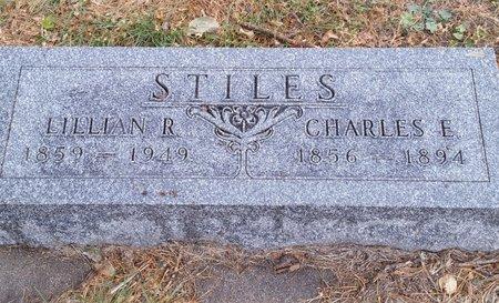 STILES, CHARLES E - Fillmore County, Nebraska   CHARLES E STILES - Nebraska Gravestone Photos