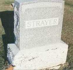 STRAYER, SAMUEL L - Fillmore County, Nebraska | SAMUEL L STRAYER - Nebraska Gravestone Photos
