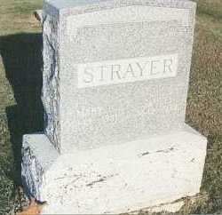 STRAYER, MARY ELIZABETH - Fillmore County, Nebraska | MARY ELIZABETH STRAYER - Nebraska Gravestone Photos