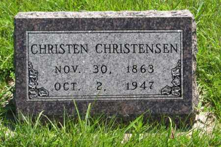 CHRISTENSEN, CHRISTEN - Franklin County, Nebraska | CHRISTEN CHRISTENSEN - Nebraska Gravestone Photos