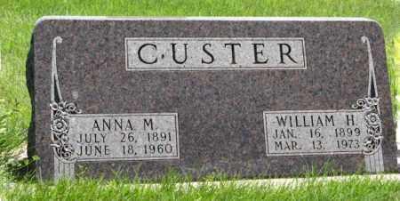 CUSTER, WILLIAM H. - Franklin County, Nebraska | WILLIAM H. CUSTER - Nebraska Gravestone Photos