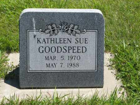 GOODSPEED, KATHLEEN SUE - Franklin County, Nebraska | KATHLEEN SUE GOODSPEED - Nebraska Gravestone Photos