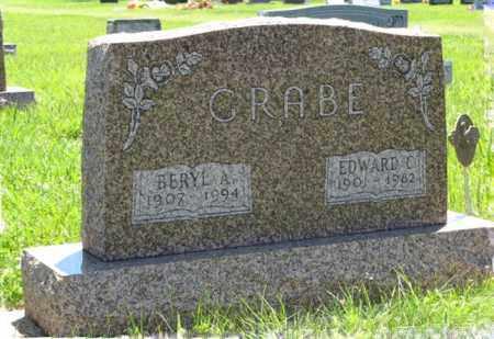 GRABE, EDWARD C. - Franklin County, Nebraska | EDWARD C. GRABE - Nebraska Gravestone Photos