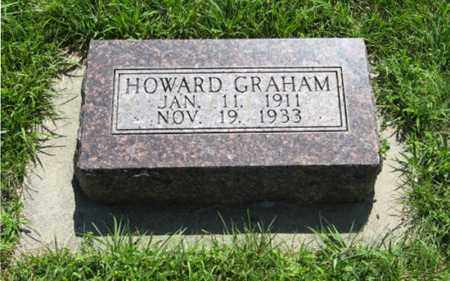 GRAHAM, HOWARD - Franklin County, Nebraska | HOWARD GRAHAM - Nebraska Gravestone Photos