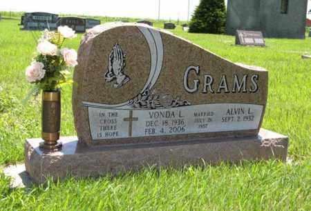 GRAMS, ALVIN L. - Franklin County, Nebraska | ALVIN L. GRAMS - Nebraska Gravestone Photos