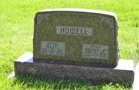 HOWELL, MABEL - Franklin County, Nebraska | MABEL HOWELL - Nebraska Gravestone Photos