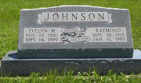 JOHNSON, RAYMOND - Franklin County, Nebraska | RAYMOND JOHNSON - Nebraska Gravestone Photos