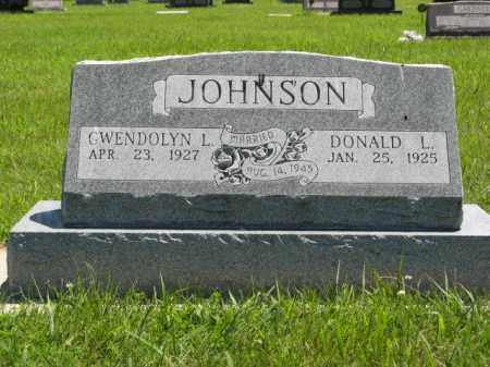 JOHNSON, GWENDOLYN L. - Franklin County, Nebraska | GWENDOLYN L. JOHNSON - Nebraska Gravestone Photos