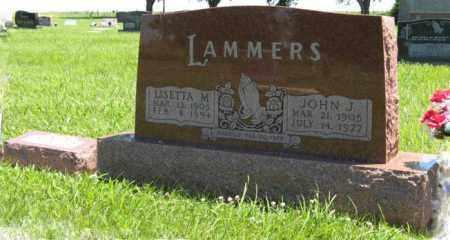 LAMMERS, LISETTA M. - Franklin County, Nebraska | LISETTA M. LAMMERS - Nebraska Gravestone Photos