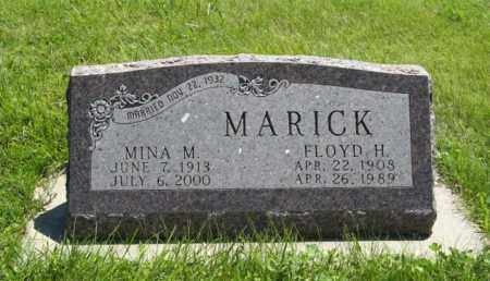 MARICK, MINA M. - Franklin County, Nebraska | MINA M. MARICK - Nebraska Gravestone Photos