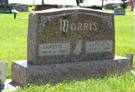 MORRIS, ARTHUR R. - Franklin County, Nebraska | ARTHUR R. MORRIS - Nebraska Gravestone Photos