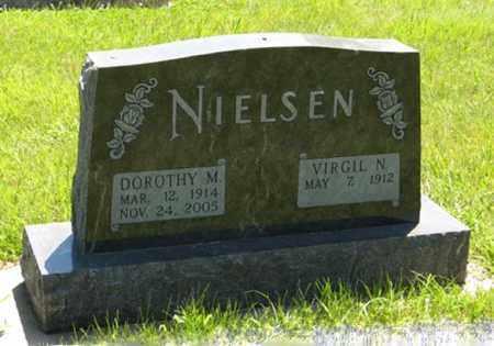 NIELSEN, VIRGIL N. - Franklin County, Nebraska | VIRGIL N. NIELSEN - Nebraska Gravestone Photos