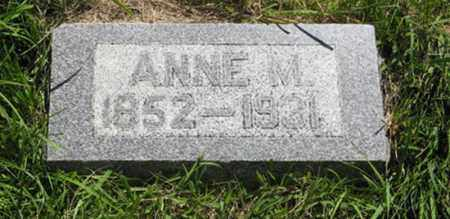 OSTERGAARD, ANNE M. - Franklin County, Nebraska | ANNE M. OSTERGAARD - Nebraska Gravestone Photos
