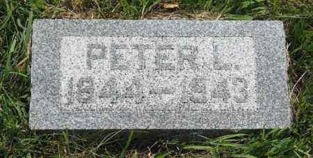 OSTERGAARD, PETER L. - Franklin County, Nebraska | PETER L. OSTERGAARD - Nebraska Gravestone Photos