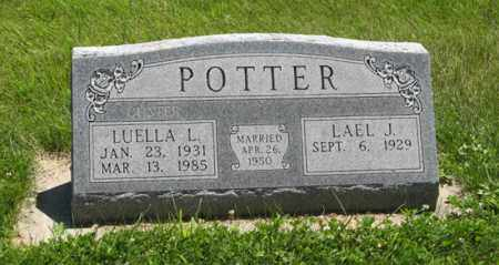 POTTER, LUELLA L. - Franklin County, Nebraska   LUELLA L. POTTER - Nebraska Gravestone Photos