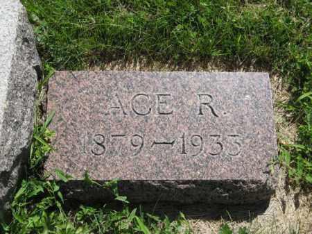 RIGGINS, ACE R. - Franklin County, Nebraska | ACE R. RIGGINS - Nebraska Gravestone Photos